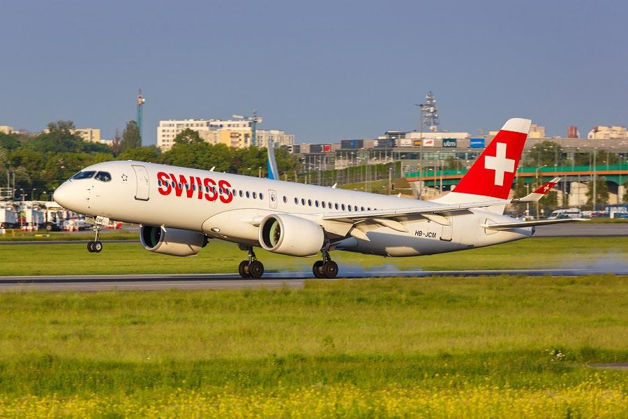 Airbus de Swiss